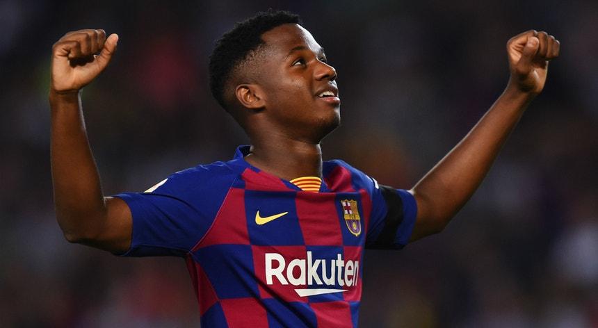 O jovem avançado do Barcelona prepara-se para a estreia na seleção de Espanha