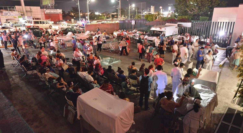 Sismo de magnitude 8 atinge Cidade do México