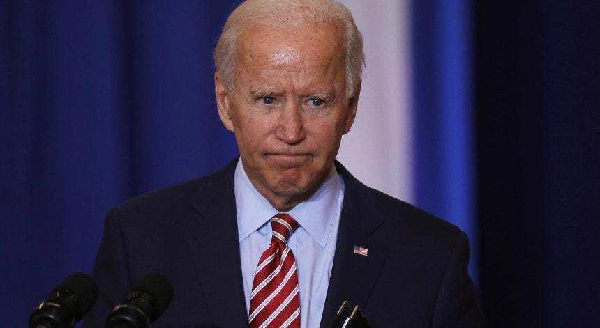 O candidato do Partido Democrático à Casa Branca, Joe Biden, a 16 de setembro de 2020 na Florida