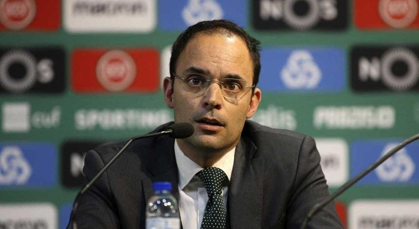 Miguel Cal deixou a SAD do Sporting