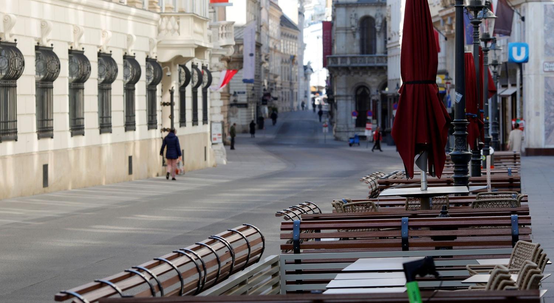 Restauração fechada em Viena, Áustria / Leonhard Foeger - Reuters