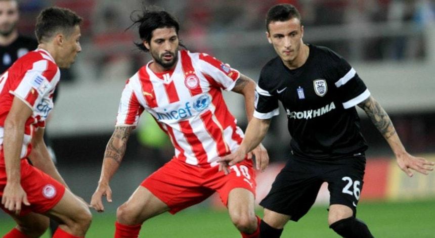 Mesmo a jogar em casa o Olympiacos não conseguiu ultrapassar o PAOK