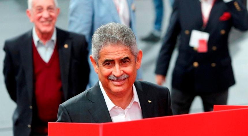 Luís Filipe Vieira presidente do Benfica