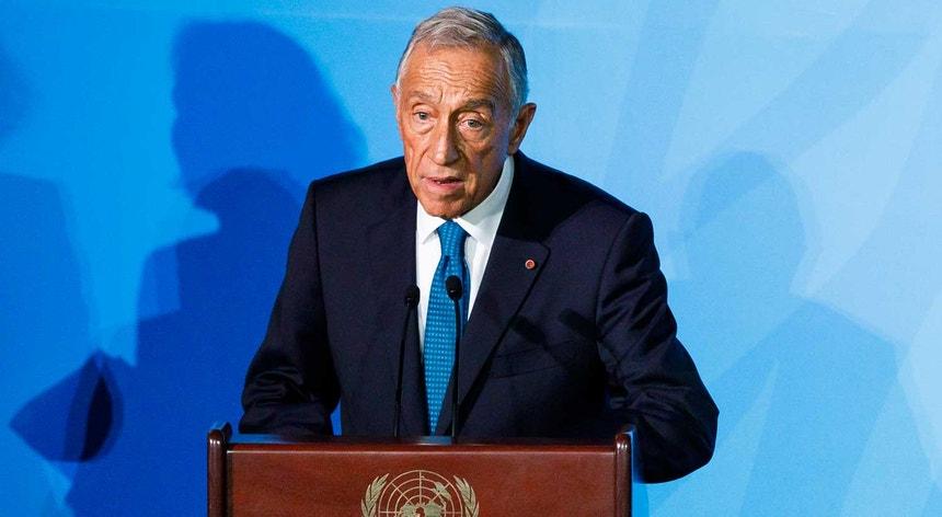 """""""Fomos os primeiros a comprometer-nos a ser neutros em carbono até 2050"""", destacou o Presidente português"""
