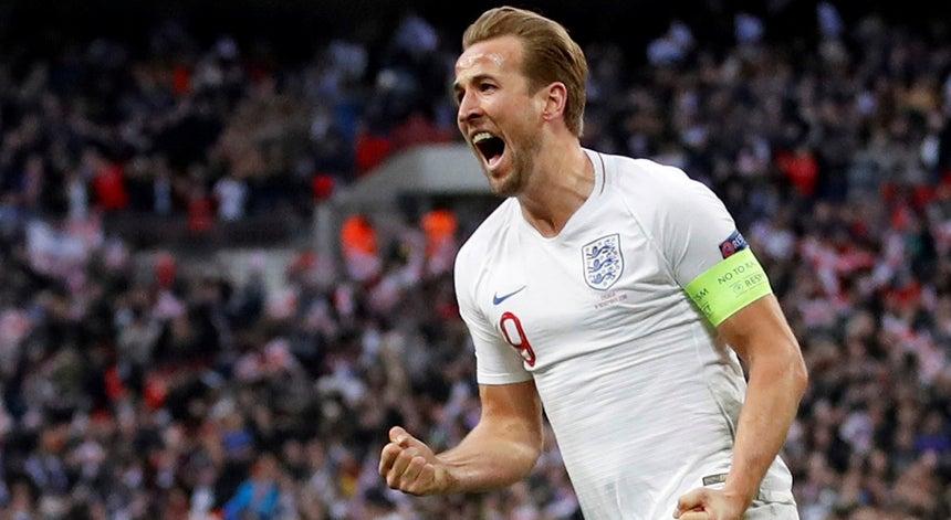 584c5c329a A seleção inglesa de futebol garantiu hoje um lugar na `final four` da Liga  das Nações A