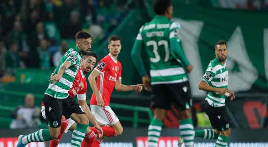 Sporting 0 - 2 Benfica, as estatísticas do jogo