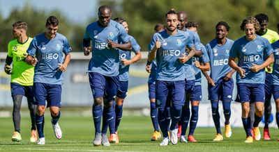 FC Porto retomou preparação para o dérbi ainda sem quatro jogadores