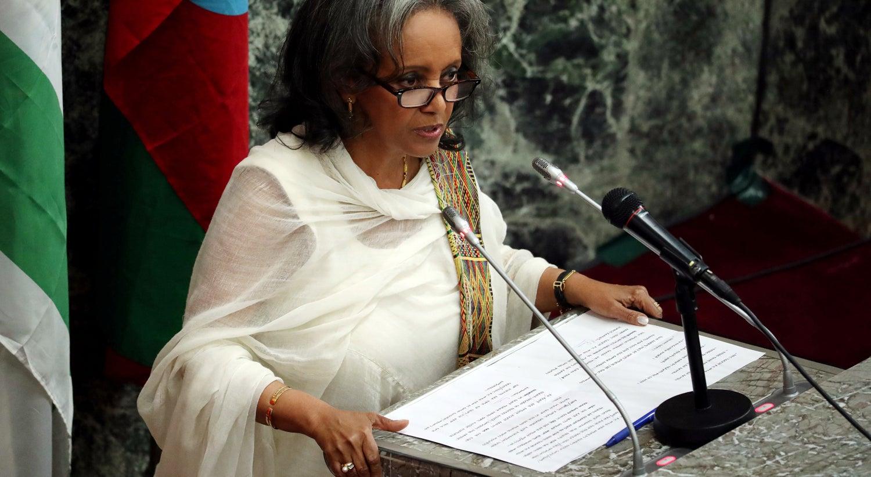Resultado de imagem para Etiópia escolhe primeira mulher presidente