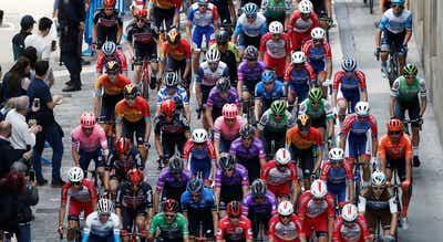 Vuelta2020. Ronda de testes negativos à covid-19 em dia de descanso