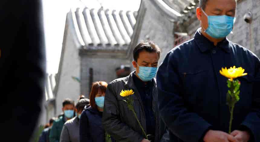 China em silêncio
