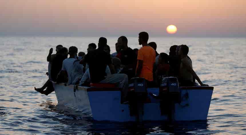 Mediterrâneo de esperança