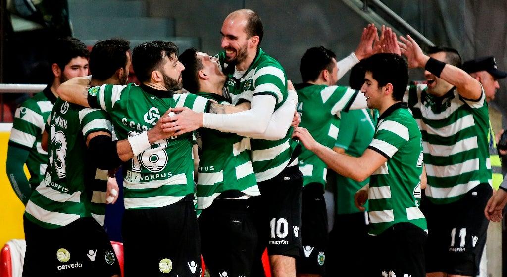 Sporting na final da Taça Challenge de andebol