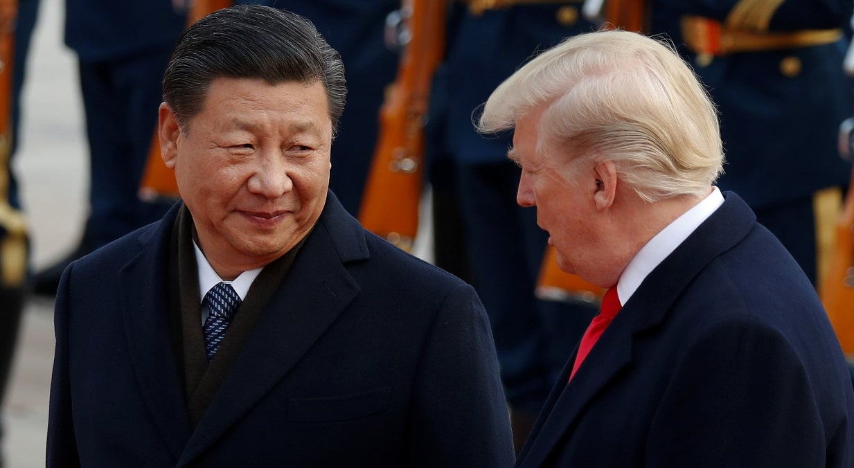 China mais dura com a Coreia do Norte, diz Trump
