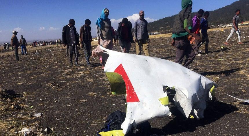 Resultado de imagem para Um avião da Ethiopian Airlines caiu na manhã este domingo com 149 passageiros