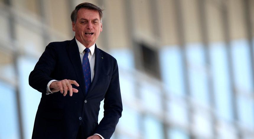 A possibilidade de destituição de Bolsonaro está a dividir os brasileiros