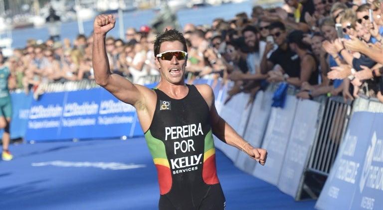 Resultado de imagem para João Pereira sagra-se campeão europeu de triatlo, João Silva em terceiro