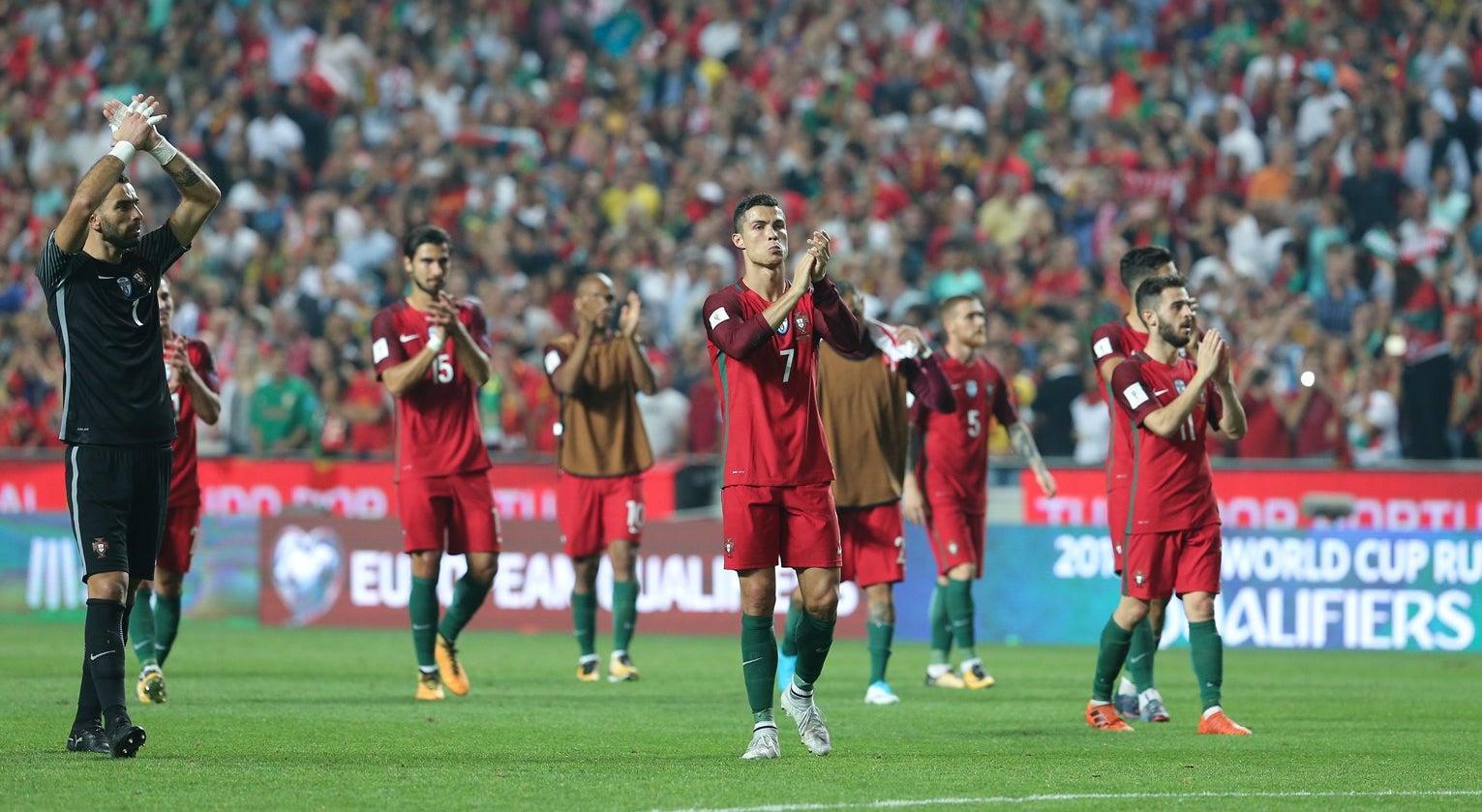 A caminhada de Portugal para chegar ao Mundial 2018