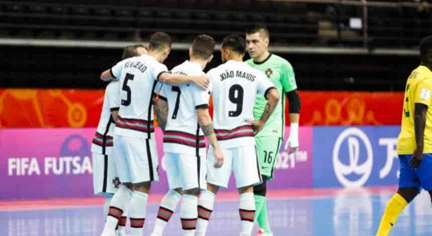Portugal goleia facilmente as Ilhas Salomão por 7-0
