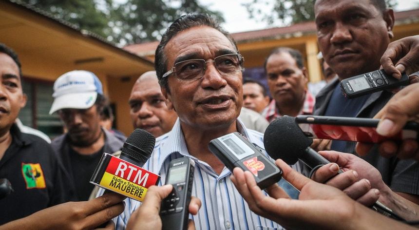Francisco Guterres Lu-Olo foi apoiado pelas maiores forças políticas de Timor-Leste, Fretilin e CNRT