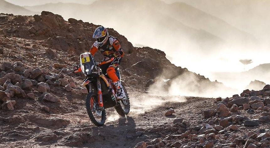 Sam Sunderland venceu a penúltima etapa do Dakar e é segundo na geral