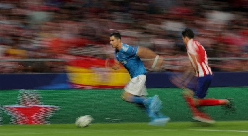 Ronaldo tentou mas não conseguiu marcar