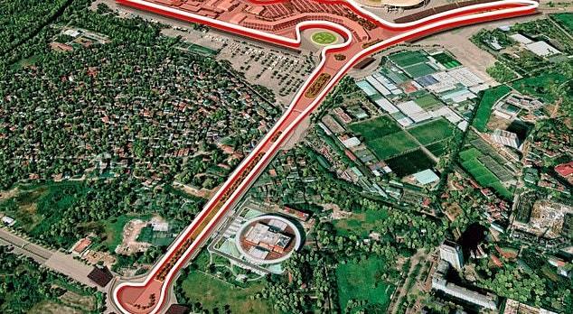 """A pista do Vietname poderá receber pela primeira vez o """"circo"""" da Fórmula 1, em novembro"""