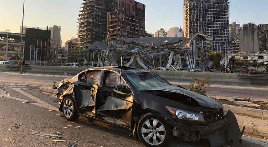 Fotojornalista português em Beirute testemunhou pânico da população