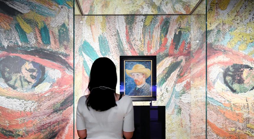 Carta de Van Gogh e Gauguin vendida por mais de 210 mil euros