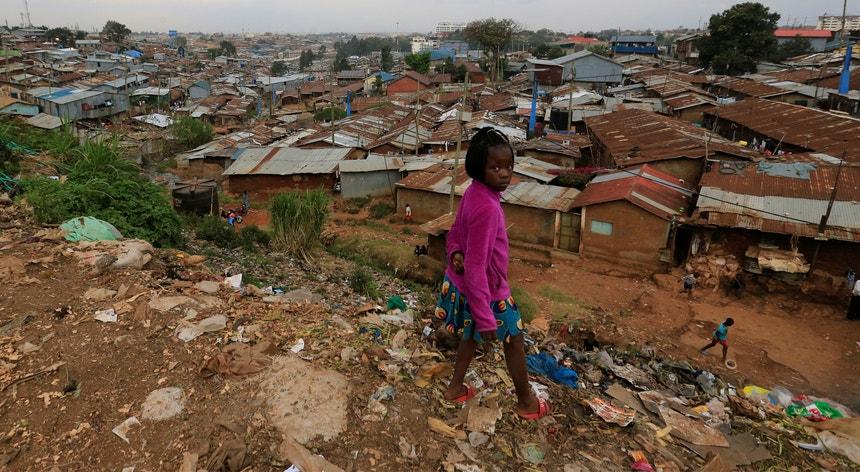 O flagelo da fome agrava-se em África