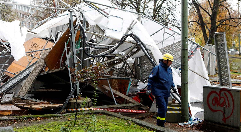 Resultado de imagem para Tempestade na Europa central faz cinco mortos