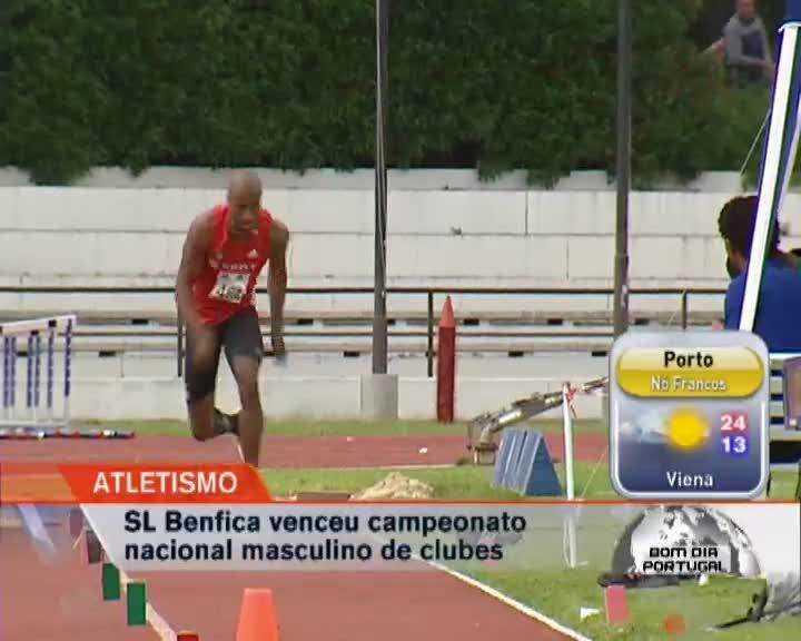 Benfica é campeão nacional de clubes em atletismo - Benfica - RTP Notícias 719b8c7f7f71d