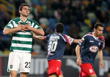 Sporting e U. Leiria empataram sem golos em Alvalade