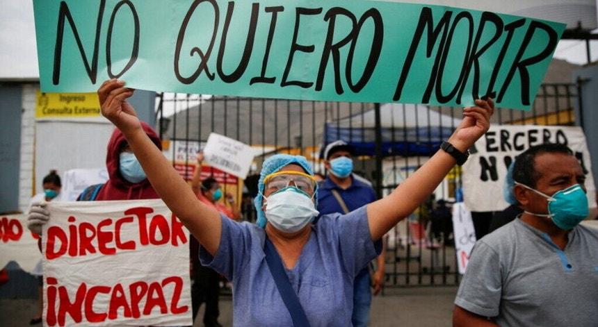 O desespero chegou aos profissionais de saúde na América Latina e Caraíbas