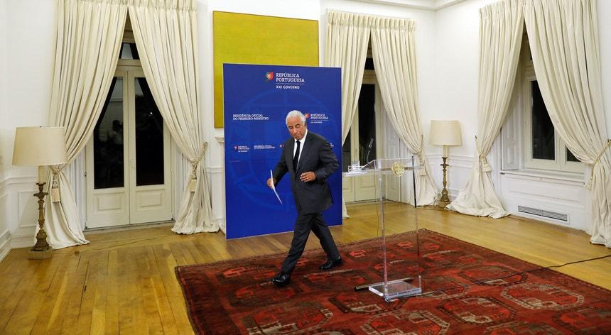 """António Costa disse ter """"consciência de que o país exige resultados em contrarrelógio"""""""