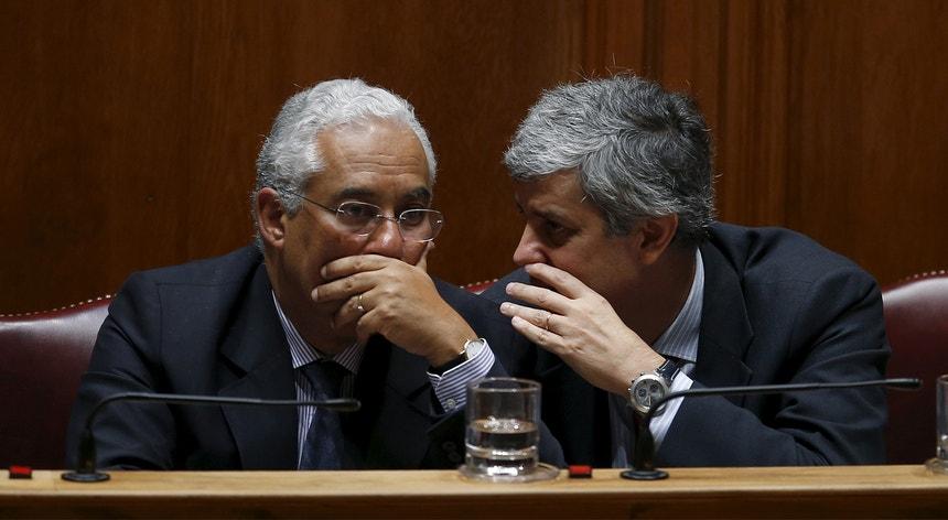 O comunicado tem as chancelas dos ministérios de Mário Centeno e de Vieira da Silva