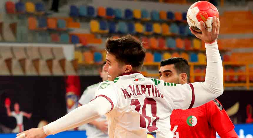 Portugal - Argélia, Mundial de Andebol 2021 em direto
