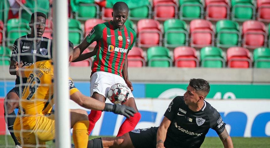 Na 1.ª volta no Funchal registou-se um empate a dois golos