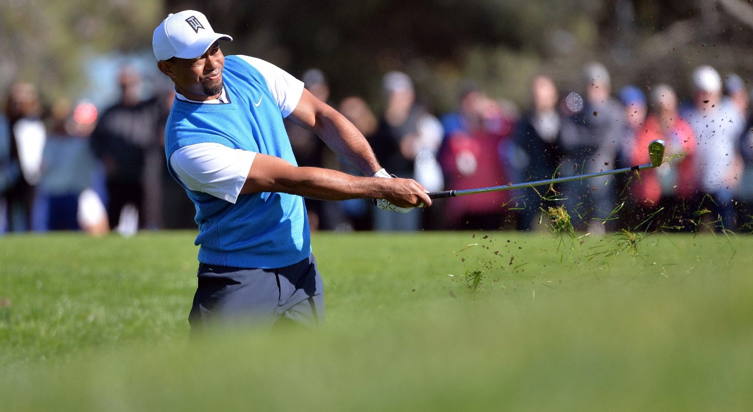 Tiger Woods cai abaixo do 1000.º lugar do `ranking` mundial