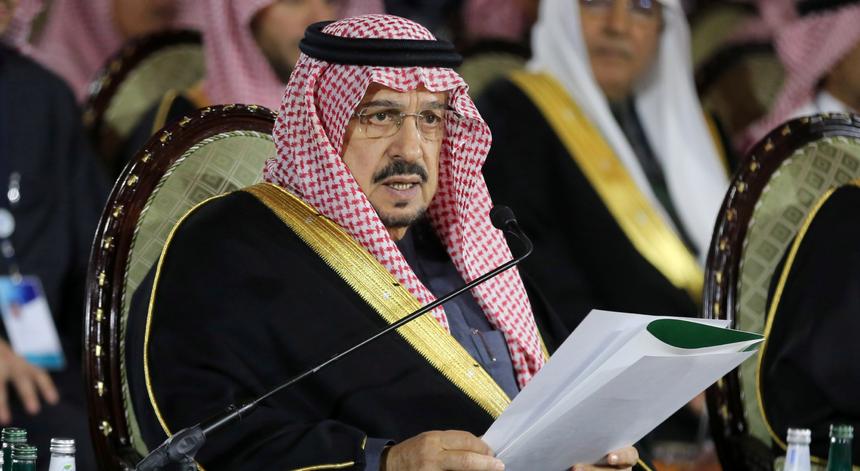 O príncipe saudita Faisal bin Bandar bin Abdulaziz Al Saud, e governador de Riad, tem 70 anos e está nos cuidados intensivos devido à infeção pelo novo coronavírus.
