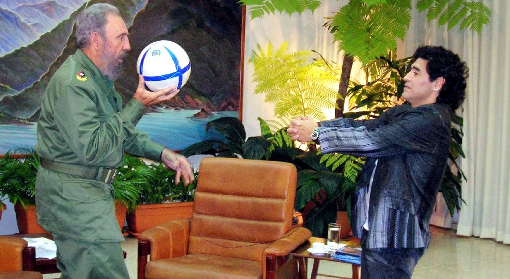 2005. Com Fidel de Castro, Presidente de Cuba   Reuters