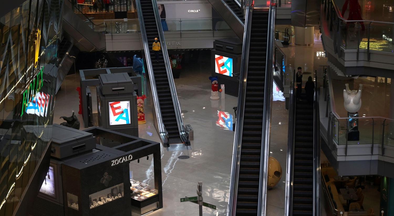 Centro comercial na China / Tingshu Wang - Reuters