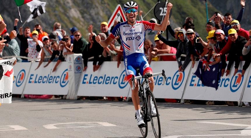 Thibaut Pinot (Groupama-FDJ) venceu  no topo do Tourmalet
