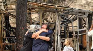 Resultado de imagem para Governo adota mecanismo extrajudicial para indemnizar vítimas dos incêndios