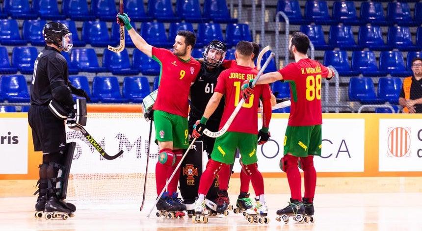 Resultado de imagem para Hóquei. Portugal vence Espanha e joga final do mundial com a Argentina