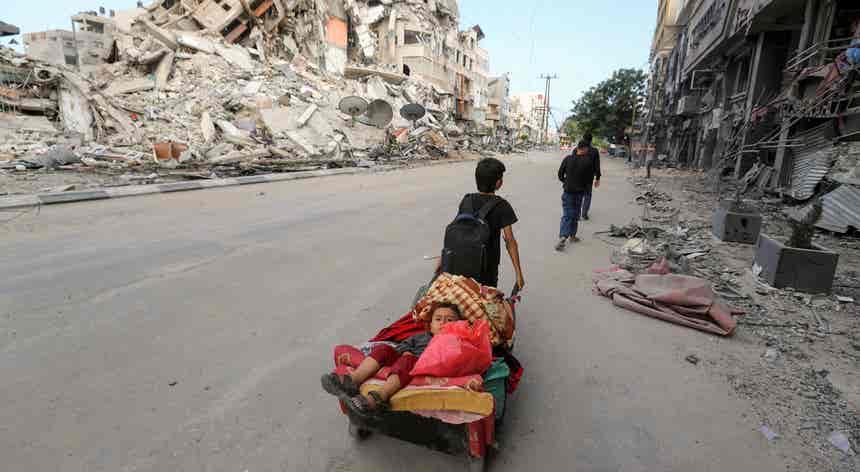 Reflexo do conflito israelo-palestiniano