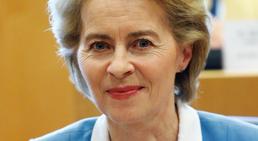 Ursula von der Leyen, presidente indigitada da Comissão Europeia