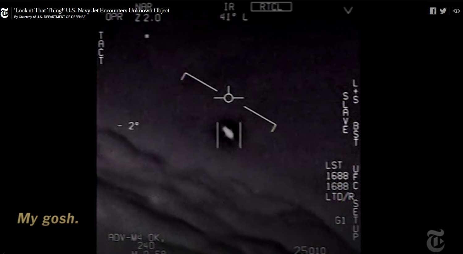 Pentágono a investigar OVNIs