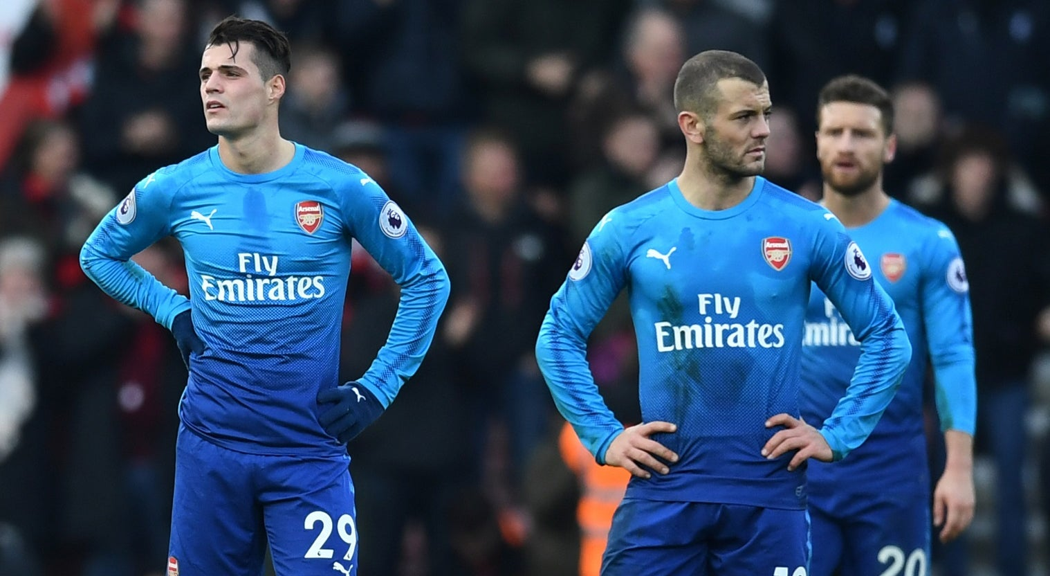Arsenal volta a perder, desta vez no campo do Bournemouth