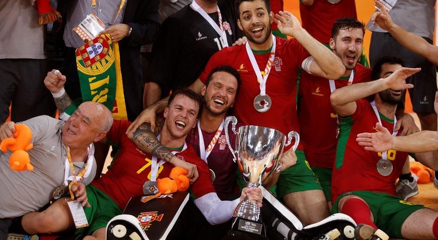 Portugal alcançou o título mundial de hóquei em patins