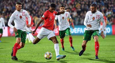 UEFA abre processo contra Bulgária pelos incidentes no jogo com Inglaterra